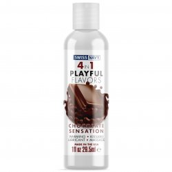 Swiss Navy: 4 in 1 Chocolate Sensation - 1 oz. Product Image