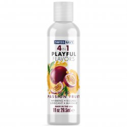 Swiss Navy: 4 in 1 Wild Passion Fruit - 1 oz. Product Image