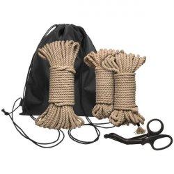 Kink - Bind & Tie Initiation 5 Piece Hemp Rope Kit Product Image