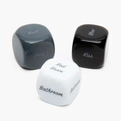 Fifty Shades of Grey Play Nice Kinky Dice for Couples Product Image