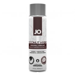 JO Silicone Free Coconut Hybrid Water Based Lubricant - 4oz Product Image