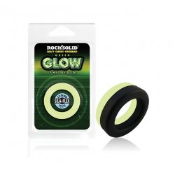 Rock Solid Glow in the Dark  Big O Ring - Black/Green  Product Image