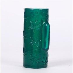 Maia: Blaze 10 Function Vibrating Male Masturbator - Green Clear Product Image
