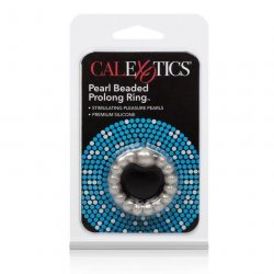 Prolong Pearl Beaded Cock Ring - Grey 4 Product Image