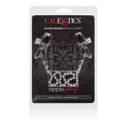 Silver Beaded Nipple Clamps 4 Product Image