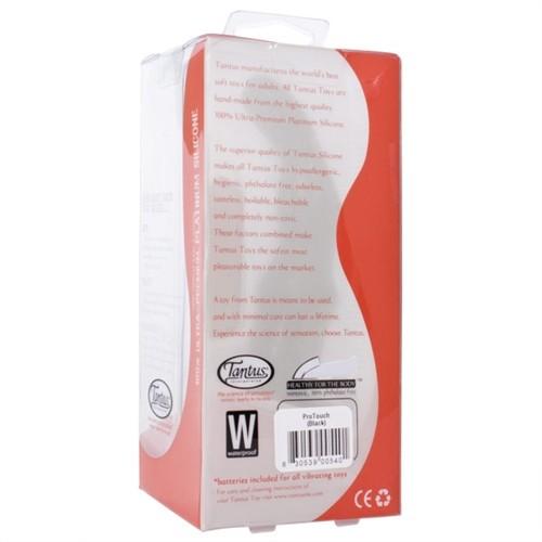 Tantus: Pro Touch Vibrating Dildo - Black 11 Product Image
