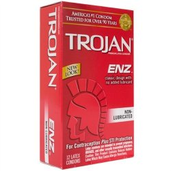 Trojan Enz Non-Lubricated - 12 Pack 2 Product Image