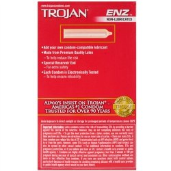Trojan Enz Non-Lubricated - 12 Pack 3 Product Image
