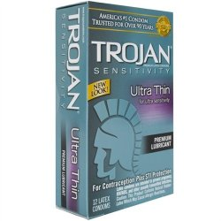 Trojan Ultra Thin Lubricated - 12 Pack 2 Product Image