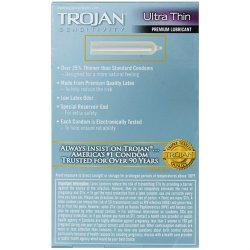 Trojan Ultra Thin Lubricated - 12 Pack 3 Product Image
