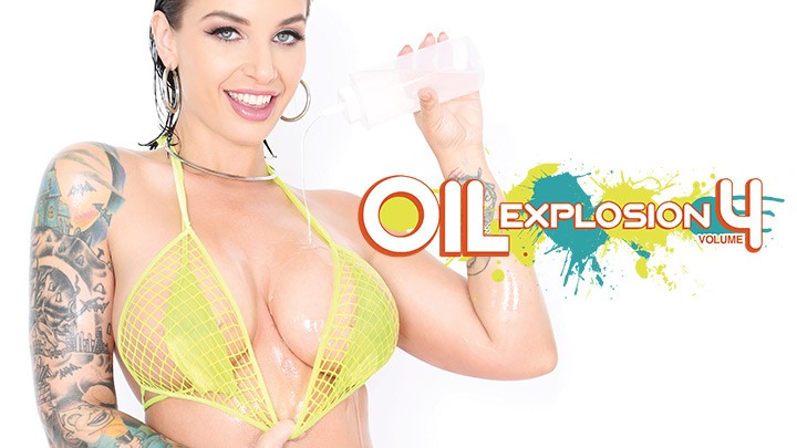Behind the Scenes of Oil Explosion Vol. 4