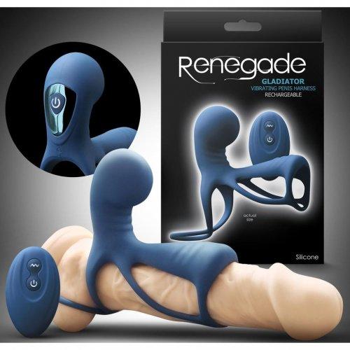 Remote penis vibrator