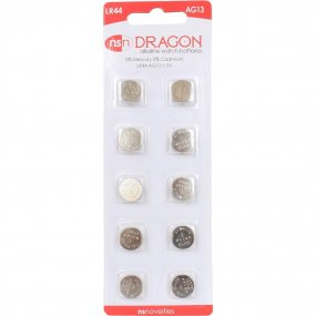 Dragon AG13/LR44 Batteries - 10 pack 1 Product Image