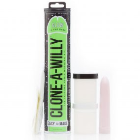 Clone-A-Willy Kit - Vibrating - Glow In The Dark 1 Product Image