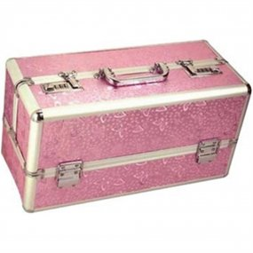 Lockable Sex Toy Storage Case - Pink - Large 1 Product Image