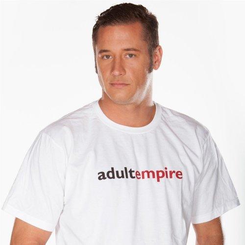 Adult Empire T-Shirt - White - Medium 1 Product Image