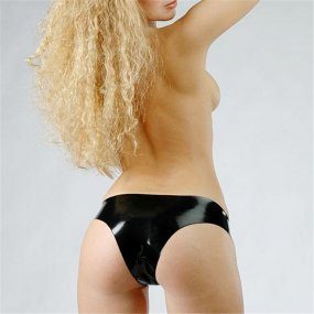 Fetisso Latex Ladies Brief - Small 1 Product Image