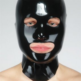 Fetisso Latex  Open Eye And Mouth Hood - Large 1 Product Image