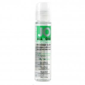 System JO All In One Massage Glide - Cucumber 1oz. 1 Product Image