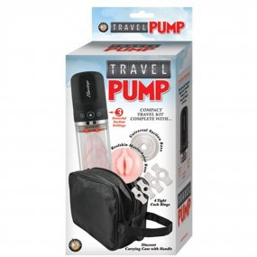 Travel Pump - Clear 2 Product Image