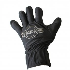 Fukuoku: 5 Finger Left Hand Massage Glove - Black 1 Product Image