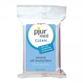 Pjur Med Clean Personal Soft Cleaning Fleece - 25 Per Pack 1 Product Image