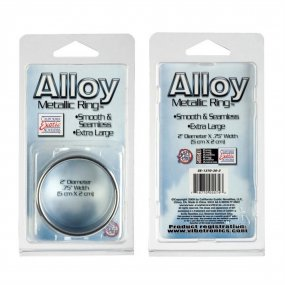 Alloy Metallic Ring - Extra Large - 2 Inch Diameter 2 Product Image