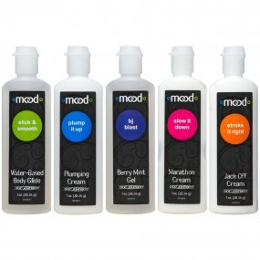 Mood: Pleasure For Him Gels - 5 Pack - 1 oz. ea. 1 Product Image