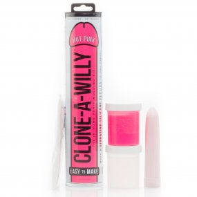 Clone A Willy Vibe Kit - Hot Pink 1 Product Image