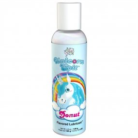 Wet Unicorn Spit Waterbased Lubricant - Donut Flavor - 4.6 oz. 1 Product Image