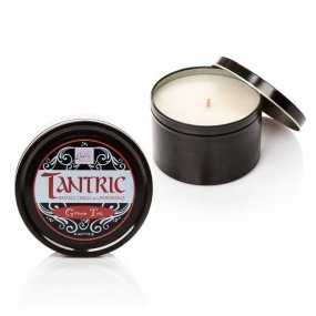 Tantric Soy Candle With Pheromones - Green Tea 1 Product Image