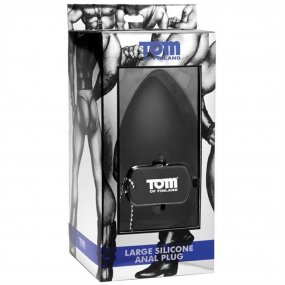 Tom of Finland Silicone Anal Plug - Large 2 Product Image