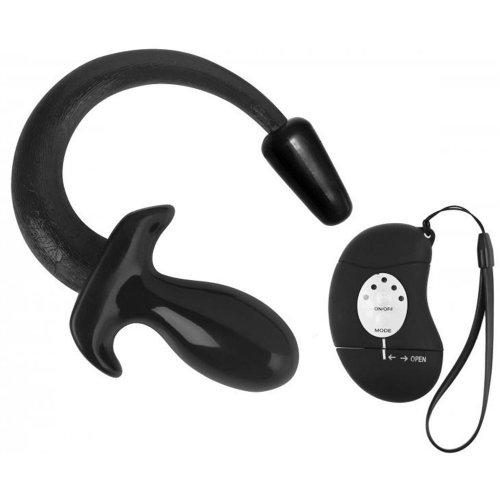 "Master Series: Kanine Kollection Good Boy Wireless Puppy Plug - Black - 7.5"" 1 Product Image"