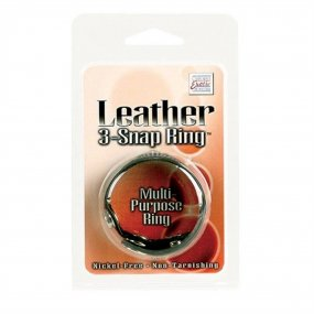 Leather 3-Snap Ring 2 Product Image