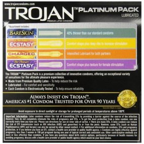 Trojan Platinum Pack Latex Condoms  - 26 pk 2 Product Image