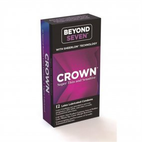 Beyond Seven: Crown Super Thin and Sensitive - 12 pk 1 Product Image
