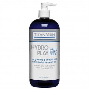 TitanMen Hydro Play - Water Based Glide - 32 fl. oz. 1 Product Image