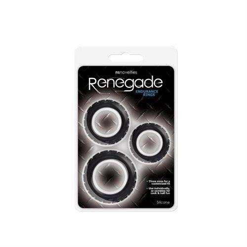 Renegade: Endurance Rings - Black 2 Product Image