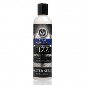 Master Series: Jizz Numbing Lube - Cum Scented - 8.5 oz. 1 Product Image