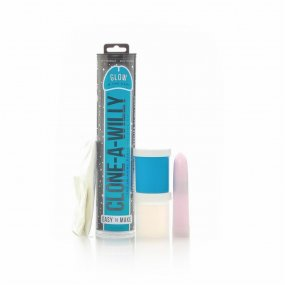Clone A Willy - Vibrating - Glow In The Dark Blue 1 Product Image