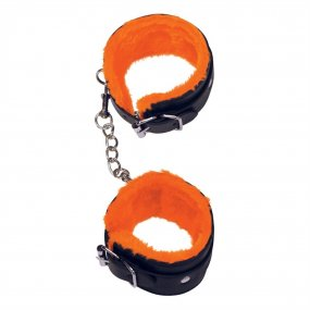 The 9's: Orange Is The New Black Love Cuffs - Ankle 1 Product Image