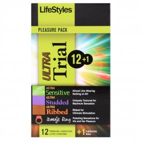 LifeStyles Ultra Trial 12+1 Pack 1 Product Image