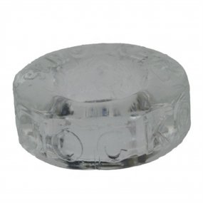 Ox Balls Sprocket Cockring - Clear 2 Product Image