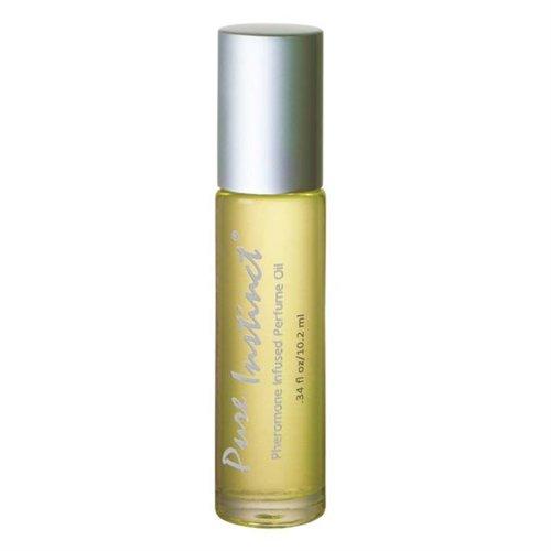 Pure Instinct Pheromone Infused Perfume Oil - 3.4 oz. 1 Product Image