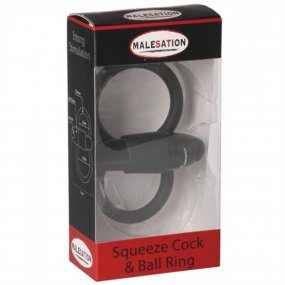 Malesation Squeeze Cock & Ball Ring 2 Product Image