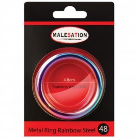 Malesation Nickel Free Stainless Steel Rainbow - 48 mm 2 Product Image