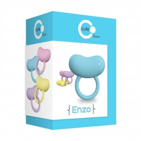 ToyJoy: Enzo Couples Ring - Blue 2 Product Image