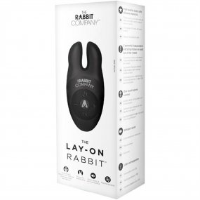 The Lay On Rabbit Vibe - Black 2 Product Image