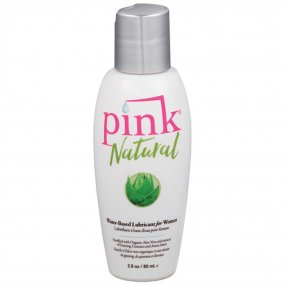 Pink Natural Water Based Lubricant For Women - 2.8oz 1 Product Image