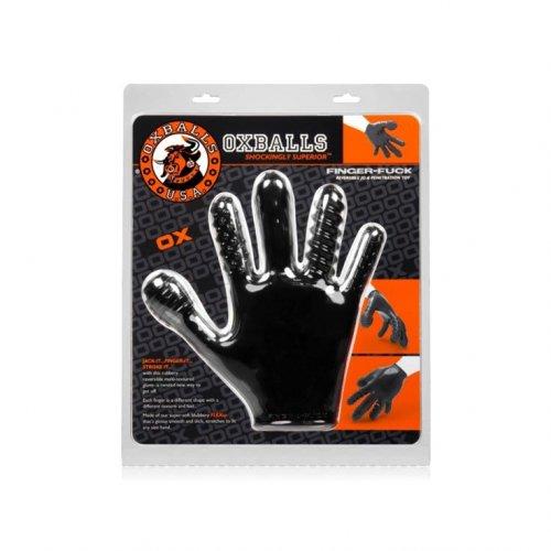 Finger Fuck Glove - Black 2 Product Image